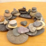 Andy Goldsworthy-inspired sculptures