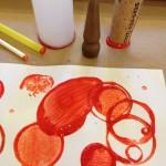 Dot and circle printing