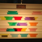 Translucent color mixing