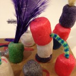 Sculpting with pipe cleaners