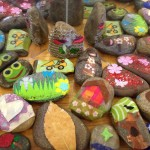 Story stones and mirrors