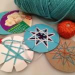 Spirelli-esque yarn crafts