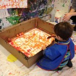 Painting with rolling balls