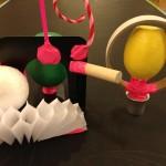Magnetic sculpture fun!