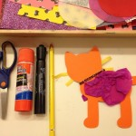 Paper kitties to decorate