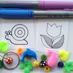 Shrinky dinks and beading