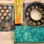 Printing with recycled objects