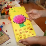 Spring-themed bookmaking