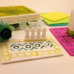 Stamping with Legos