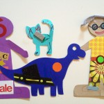 Paper dolls and paper pets