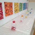 Color and sound sensory bench