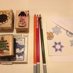 Embellishing cards