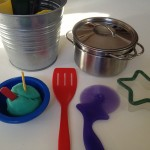 Cooking with play dough