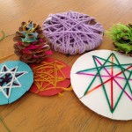 Yarn wrapping projects