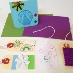 Making cards and gift tags