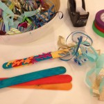 Crafting celebration wands