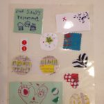 Laminated collages
