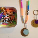 Straw jewelry and pendants
