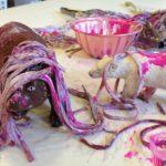 Pasta, animals, and paint