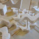 Sculpture with styrofoam