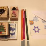 Cards, markers and stamps