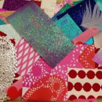 Collage materials for cards