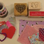 Rubber stamps, decorative papers, and more
