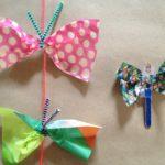 Crafting summertime butterflies