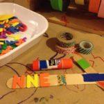 Craft sticks, foam, and more