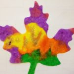 Leaf cutouts for color mixing