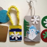 Up-cycled ornaments