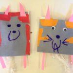 Stuffed paper pets