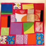 """Fusible fabric """"quilted"""" blankets"""