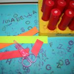 Letter and shape stamps
