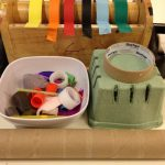 Recycle craft station