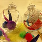 Filling plastic ornaments (to take!)