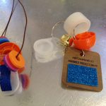 Recycle craft noisemakers