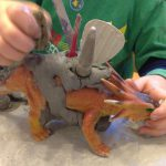 Clay, dinos, and tools