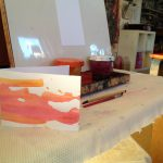 Watercolor card making