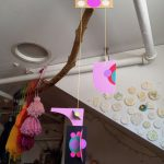 ...and circle sticker mobiles