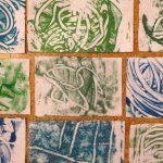 Monoprints on felt