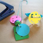 Paper punch jewelry
