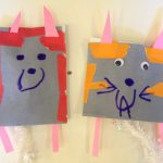 Paper pets and puppets