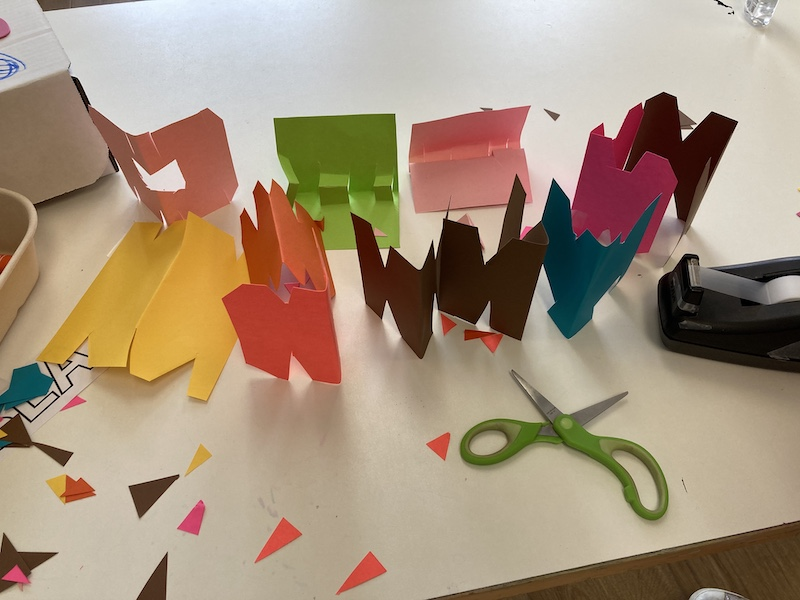 Paper Craft for 6-8s: Fridays at 3:30 (Late Fall 2020)