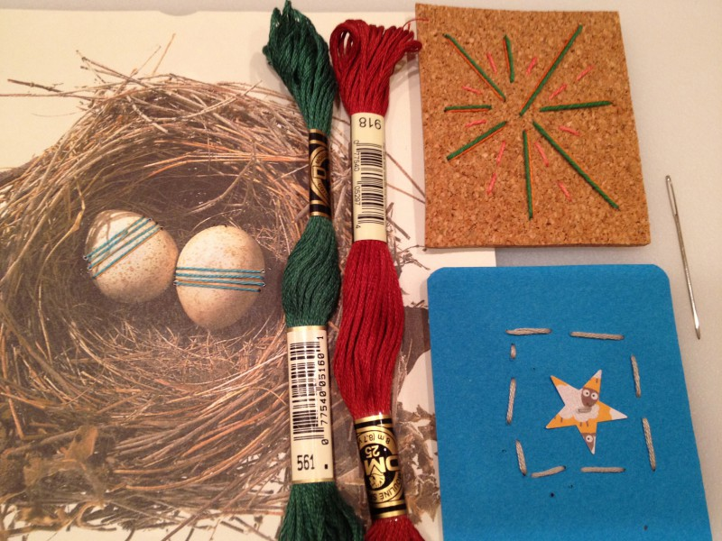 Paper, Tape, and Fiber for 6-8s: Fridays at 3:30 (Spring 2021)