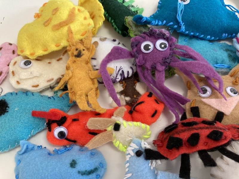 Fiber and Wood for 6-8s: Fridays at 3:30 (Early Fall 2021)