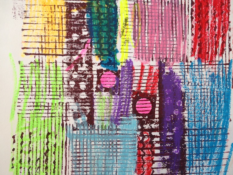 Upcycle: Printmaking and Recycle Craft for 6-8s: Fridays at 3:30 (Late Fall 2021)